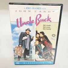 Uncle Buck (DVD, 1989) John Hughes, John Candy, Macaulay Culkin, Comedy NEW