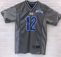 Nike Andrew Luck Youth Jersey Stitched 30  Seasons Patch Size Large 14-16 Gray