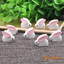 1pc Micro Landscape Ornaments Mini Rabbit Animal Fairy Garden Decor lovely YA
