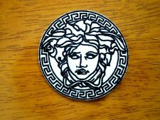 Versace Patches Medusa Fashion Logo Embroidered Cloth Applique Badge Iron Sew On