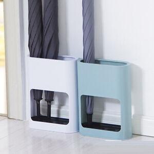 Umbrella Holder Shelf Draining Entryway Drain Stand Rain Storage Rack Household