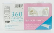 The Edge French White Nail Tips 360 Assorted Boxed 2017212