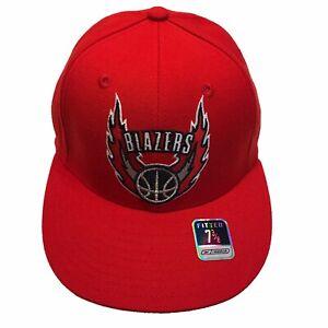 Portland Trail Blazers NBA Reebok Courtside Alternate 7 3/8 Fitted Cap Hat $28