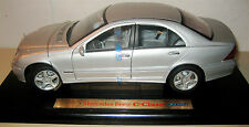 Welly 1:18 Mercedes-Benz C class silver Mint In Box