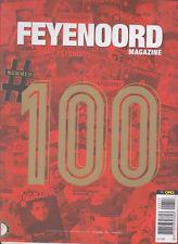 Programme / Magazine Feyenoord Rotterdam 10e jaargang no.6 Januari 2017