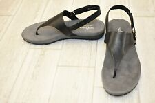 **SoftWalk Bolinas Sandals - Women's Size 8N - Black
