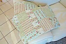 Shabby Tagesdecke Quilt Patchwork Bett Sessel Überwurf 140x220cm Nr Q134.059 NEU
