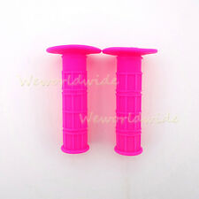 Universal 22mm Soft Rubber Handle Bar Grips For Stomp YCF IMR Pit MX Dirt Bikes