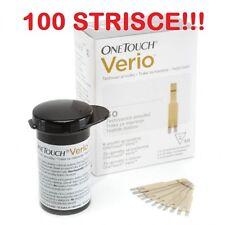 ONE TOUCH VERIO 100 STRISCE MISURAZIONE GLICEMIA (DUE SCATOLE DA 50 STRISCE)