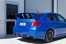 STI Style Trunk Wing Spoiler For 2008-2013 Subaru Impreza RS/WRX G3 (BLUE 02C)