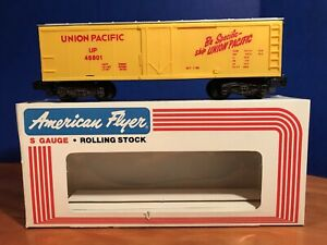 American Flyer #48801 Union Pacific Reefer with OB