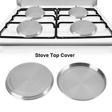 Stainless Steel Round Electric Kitchen Stove Range Top Burner Covers Set of 4 ❤
