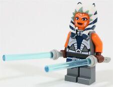 LEGO STAR WARS BATTLE AHSOKA TANO MINIFIGURE CLONE WARS MADE OF GENUINE LEGO