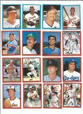 1982 O-Pee-Chee Baseball Sticker Scott McGregor #143 Baltimore Orioles *MINT*