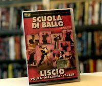 SCUOLA DI BALLO LISCIO POLKA MAZURCA VALZER DVD + CD NUOVO E SIGILLATO