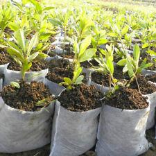200pcs Plant Non-woven Nursery Pots Raising Bag Plants Holder Garden Supplies
