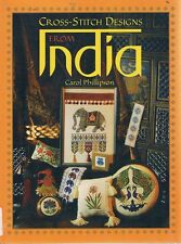Cross Stitch Designs From India by Phillipson Carol - Book