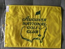 Rare Augusta National Golf Club Members Flag Masters PGA Nicklaus Woods Spieth