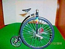 Farthing Bicycle on Stand Scale Model by The Michael Raymond Collection