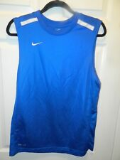 """""""Nike Dri Fit"""" Men's Sz Small Sleeveless Jersey in Superior Condition"""