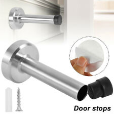 Door Stop Holder Home Safety Stopper Bumper Guard Office Catch Fitting Screws Us