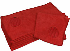 CleanAide® Microfiber Spot Cleaning Towel 16 X 16 in - 12 Pack Red
