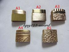 Samurai Japanese samurai knife Wakizashi Tanto sword accessories of brass Habaki