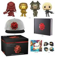 Gears of War Collector's Box 4 Rare Funko Pop Vinyls New in Sealed Box