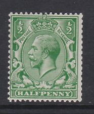GREAT BRITAIN 1913 ½d MULTIPLE CYPHER SG 397 MNH.