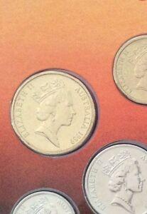 1989 $1 dollar coin ex mint set – Excellent coin