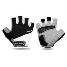 Cycling Gloves Breathable Half Finger Anti Slip Pad Motorcycle Bike Men Women