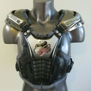 Fox Motocross Racing Body Armor Vest Black Kids Youth Medium Size M  Pre-Owned