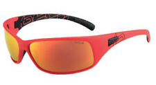 Bolle Recoil Sunglasses - 12127 - Matte Red Frame w/ Polarized Fire Oleo AF Lens