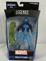 Hasbro Marvel Legends Series Rock Python 6 Inch Collectible Action Figure