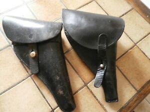RARE WW1 Etui Revolver  Francais Modèle 1892 1914 1918 WWI holster
