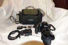 Panasonic LUMIX DMC-FZ200 12.1MP Digital Camera - Black
