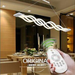 New light Pendant Modern wave LED Chandelier living room, dining room, kitchen