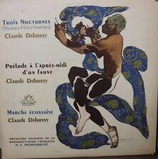 Trois Nocturnes Claude Debussy D.E. Inghelbrecht 33RPM ANG35103 122616LLE