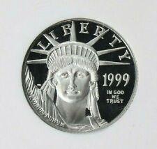 1999 W ~ $25.00 ~ 1/4 ~OZ ~ PLATINUM AMERICAN EAGLE ~ NGC ~ PF~70 ~UCAM~ $658.88