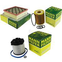 MANN-FILTER PAKET Luftfilter Ölfilter Kraftstofffilter Opel Meriva B