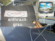g73 YACCU VORZELTTEPPICH 7x3m CAMPING anthrazit-grau