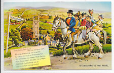 GB P.P.C WIDECOMBE IN THE MOOR (FOLK RHYME) 16/7/1970 EXETER DISTRICT C.D.S.