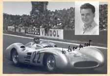Hans Herrmann - Formel 1 - original signierte Autogrammkarte