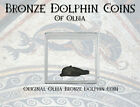 Olbia, Thrace ANCIENT DOLPHIN MONEY COIN With Informational Card 1 Pc GREAT GIFT