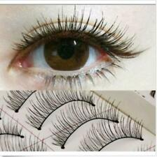 10 Pairs Natural Eye Lashes Makeup Handmade Thin Fake False Eyelashes