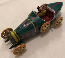 Hermanos Paya Replica I-970 Tin Toy Vintage 1985 Wind Up Race Car 970 Automobile