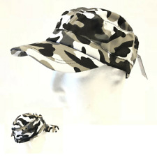 Urban Camouflage US Peak Cap Army Style Hat Hunting Camping Hiking