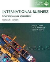 NEW 3 Days AUS International Business 16E John D. Daniels Sullivan 16th Edition