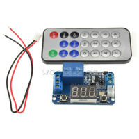 Infrared Remote Control 12V Timer Delay Relay LED Display Module ForArduino