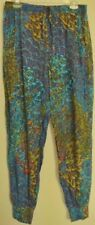 CHERRY LANE summer PANTS bright print  Travellers Gypsy boho NEW! ~ Women sz 12